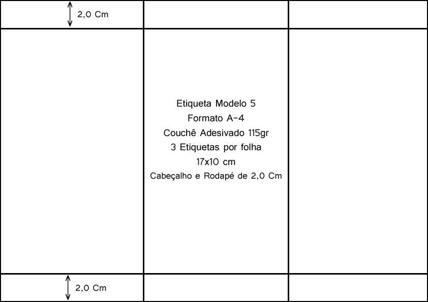 250 folhas Etiqueta Adesiva Mercado Coleta e Flex  - EMPORIO K