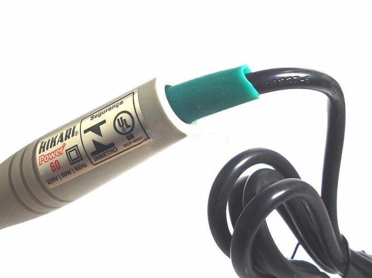 Ferro Solda Hikari Power 60 Cabo Ventilado 127v ou 220V  - EMPORIO K