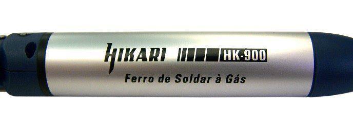 Ferro Soldar À Gás Hikari 3x1 Maçarico  e Soprador Hk-900  - EMPORIO K