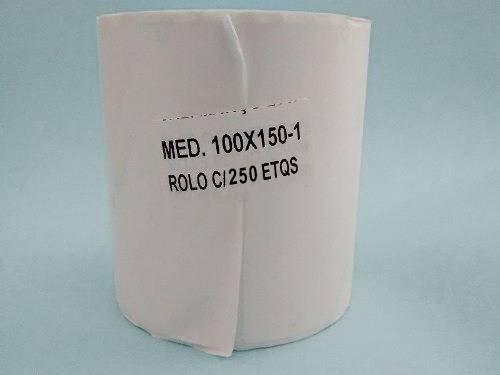 5 Rolos C/ 250 Etiquetas Mercado Envios Zebra 100x150 ou 10x15  - EMPORIO K