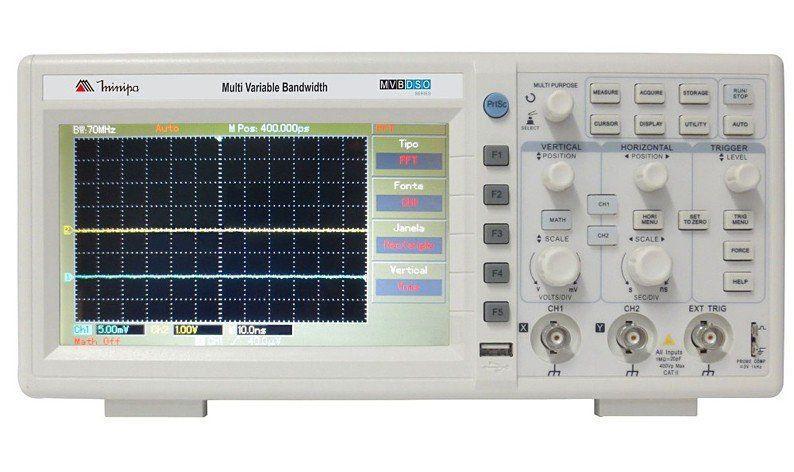 Osciloscopio Digital Minipa MVB-DSO 50 mHz  - EMPORIO K