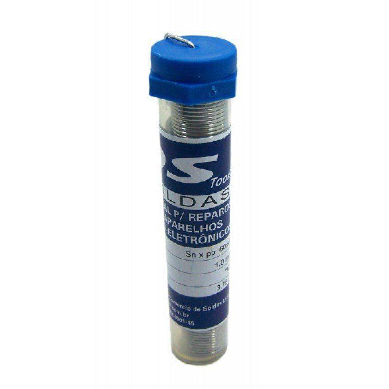 Estanho  Solda Azul Fina 60x40 1,0 mm  - EMPORIO K