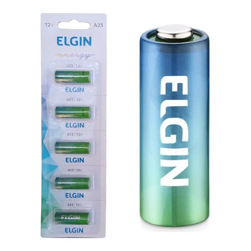 5 Bateria Pilha Energy 12v A23 Elgin Controle Alarme Portão  - EMPORIO K