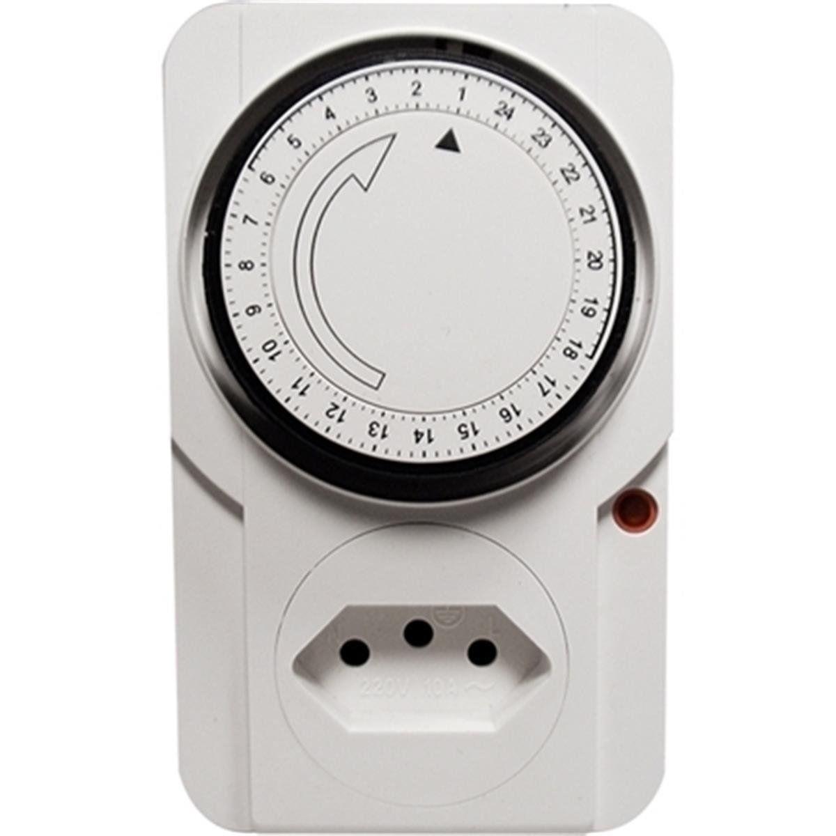 Timer Analogico Temporizador  Bivolt 96 Programas 2200 W  - EMPORIO K