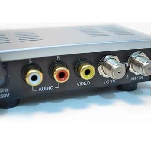 Modulador Rca Audio Video X RF Tv Antiga Loud ou Mxt  - EMPORIO K