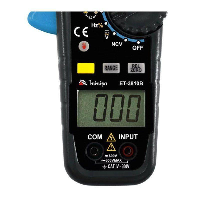 Alicate Amperimetro Digital ET-3810B Minipa  - EMPORIO K