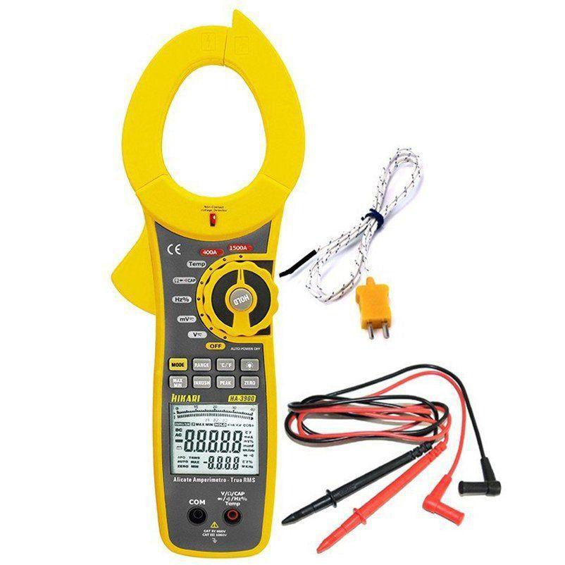 Alicate Amperímetro Digital Profissional Ha-3900 Hikari  - EMPORIO K