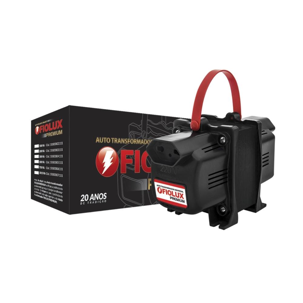 Auto Trafo Transformador 1010va Bivolt Fiolux Bipolar 2 Pinos  - EMPORIO K