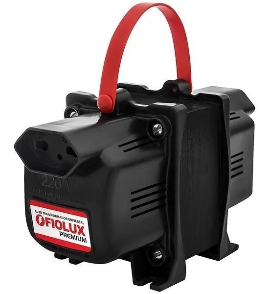 Auto Trafo Transformador 1010va Bivolt Fiolux Tripolar 3 Pinos  - EMPORIO K