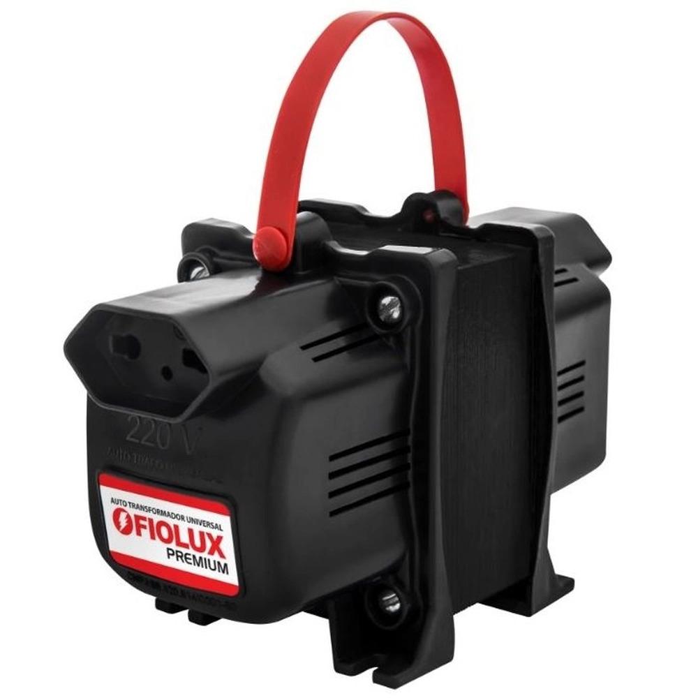 Auto Trafo Transformador 500va Bivolt Fiolux Bipolar 2 Pinos  - EMPORIO K