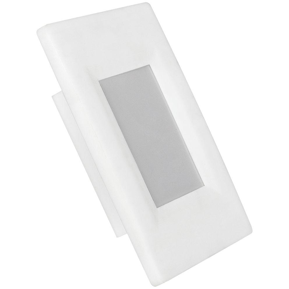 Balizador Led bivolt branco frio 4X2 2w Avant  - EMPORIO K