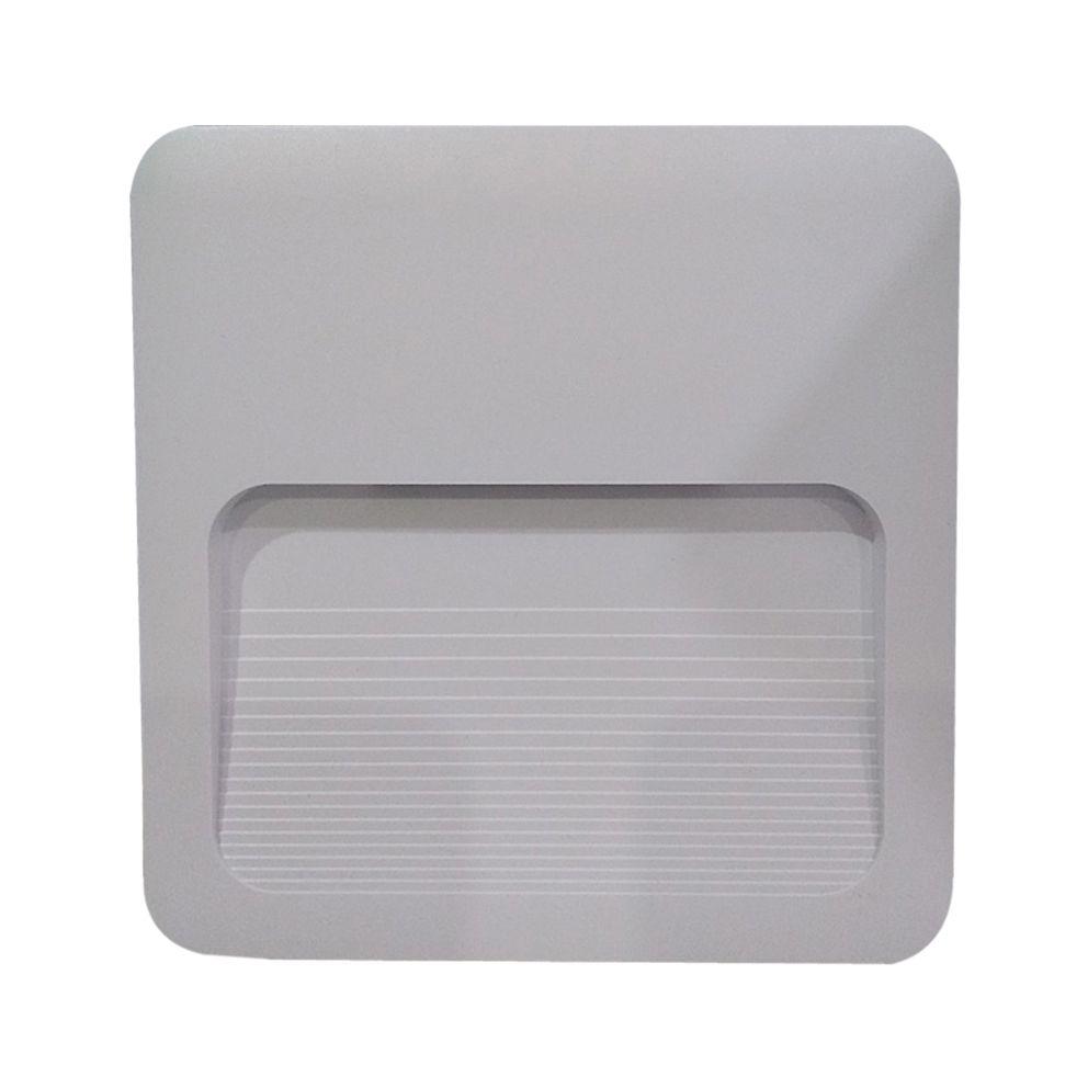 Balizador Led bivolt branco frio 4X4 2w Avant  - EMPORIO K