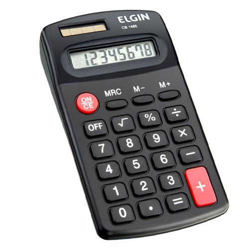 Calculadora bolso CB 1485 Elgin  - EMPORIO K