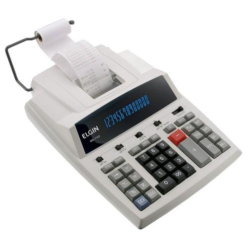 Calculadora Elgin Mb 7142 Com 14 Dígitos Visor E Impressora  - EMPORIO K