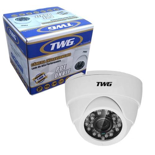 Camera Dome Twg Ip Poe Full Hd 2mp 1080p Metal 1/3 Ip66  - EMPORIO K