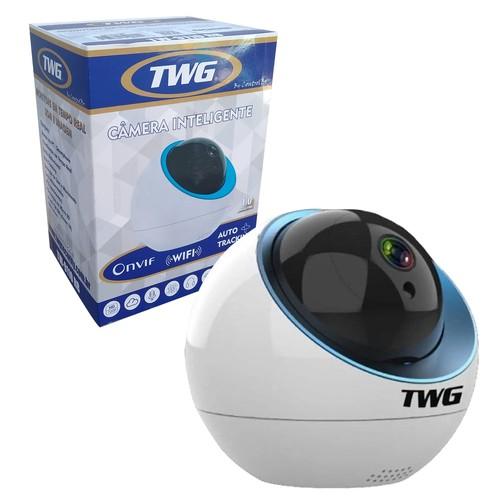 Câmera Inteligente Tw 9110 Rb Robo Ip/wi-fi 1 Mp 720p 360°  - EMPORIO K