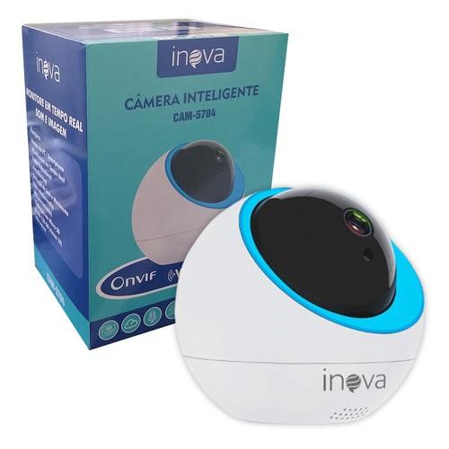 Câmera Ip Robo Wi-fi Onvif Auto Tracking Inova Cam-5704  - EMPORIO K