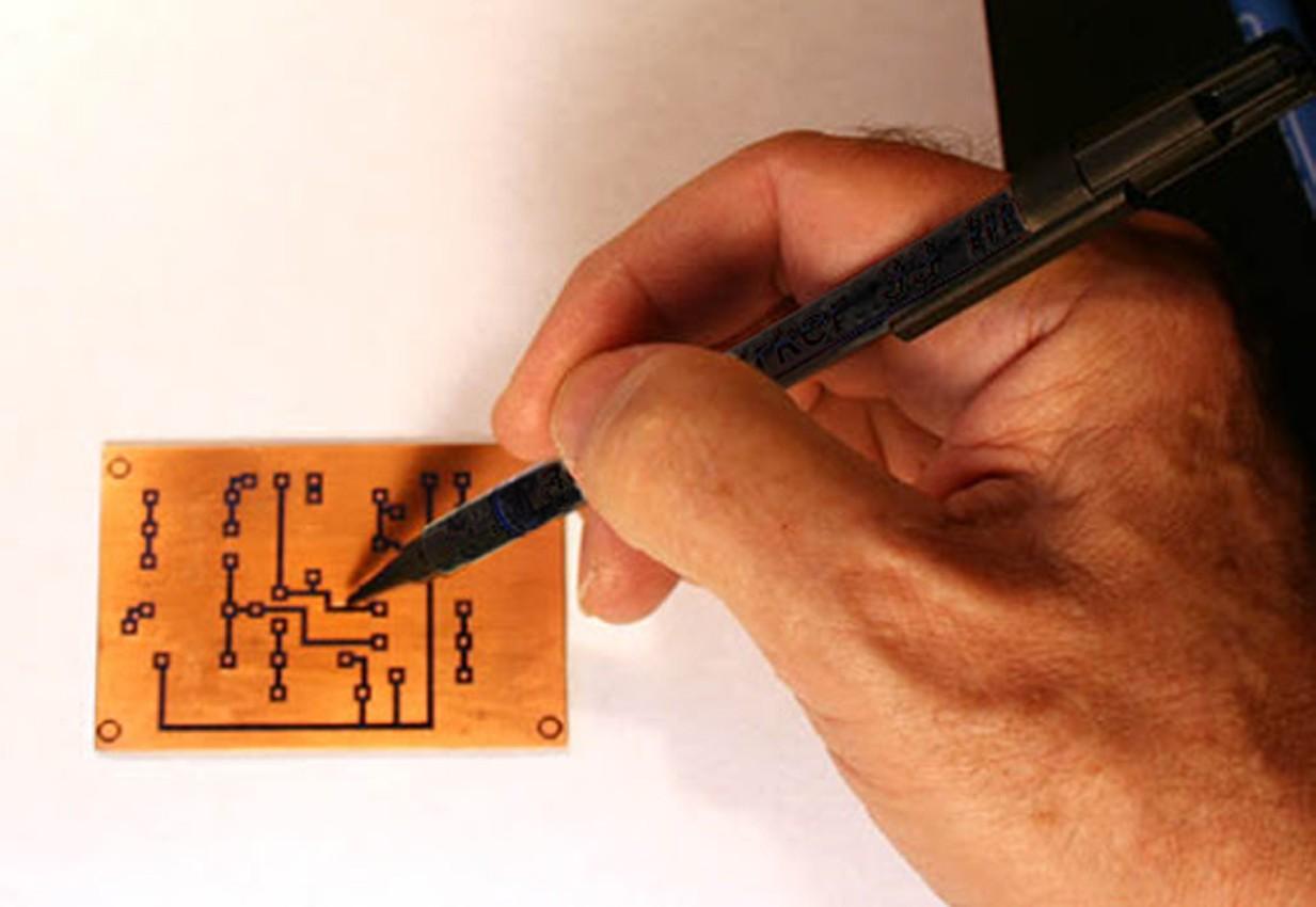 Caneta Desenhar Trilha Placa Circuito Impresso Cci-7 Suetoku  - EMPORIO K