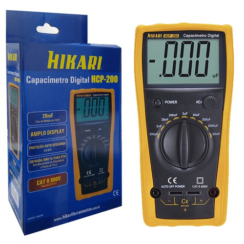 Capacímetro Digital Hcp-200 Hikari  - EMPORIO K