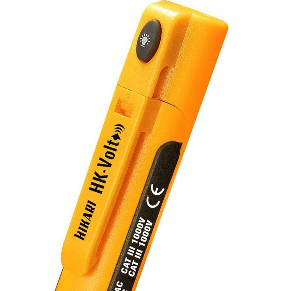 Detector De Tensão Hikari Hk-volt C/ Lanterna Sem Contato  - EMPORIO K