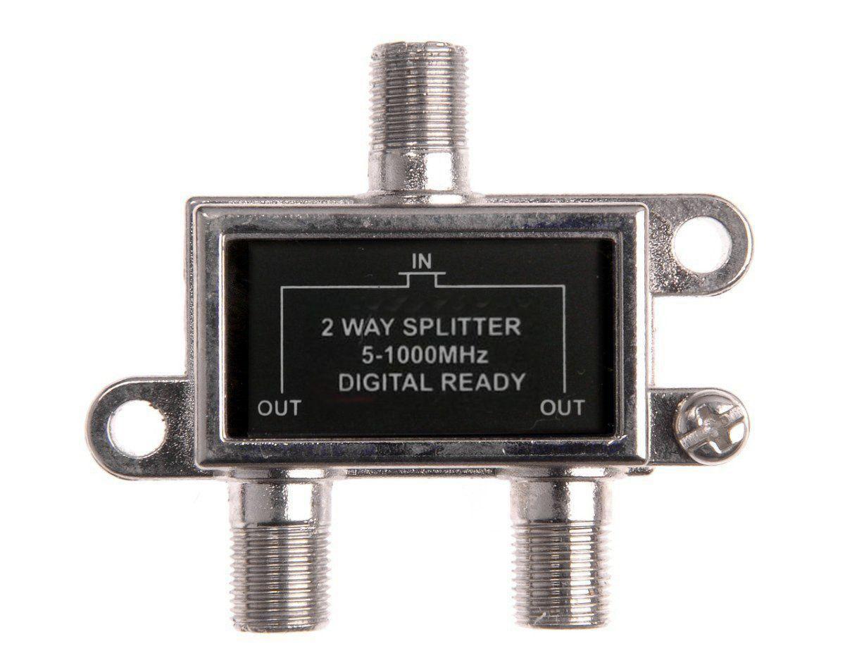 Divisor De Sinal 1 X 2 VHF/UHF/CATV Frequencia de 5~1000 MHz  - EMPORIO K