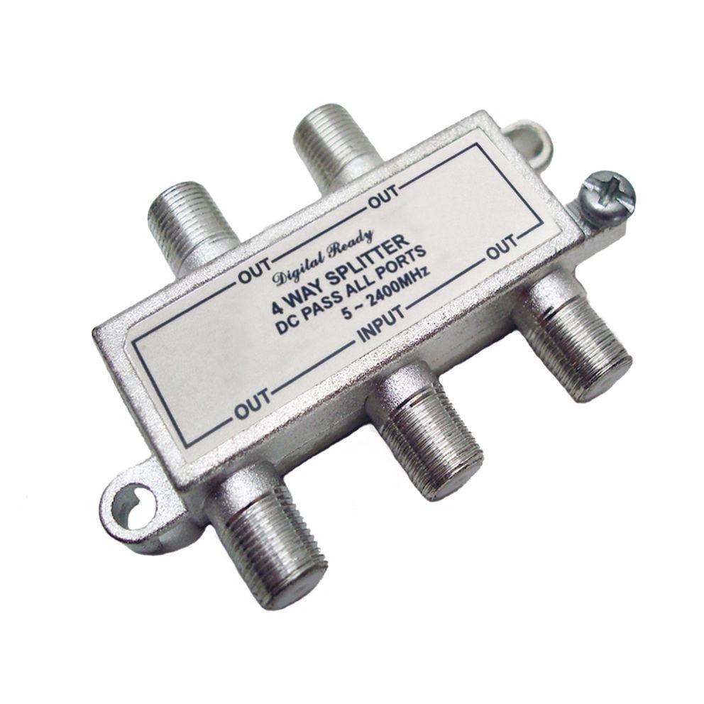 Divisor De Sinal 1 X 4  Vhf/Uhf/Catv Alta Frequencia  - EMPORIO K