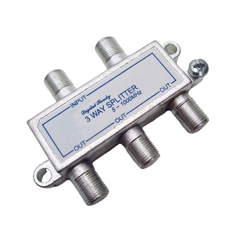 Divisor De Sinal 1 X 4 VHF/UHF/CATV Frequencia de 5~1000 MHz  - EMPORIO K