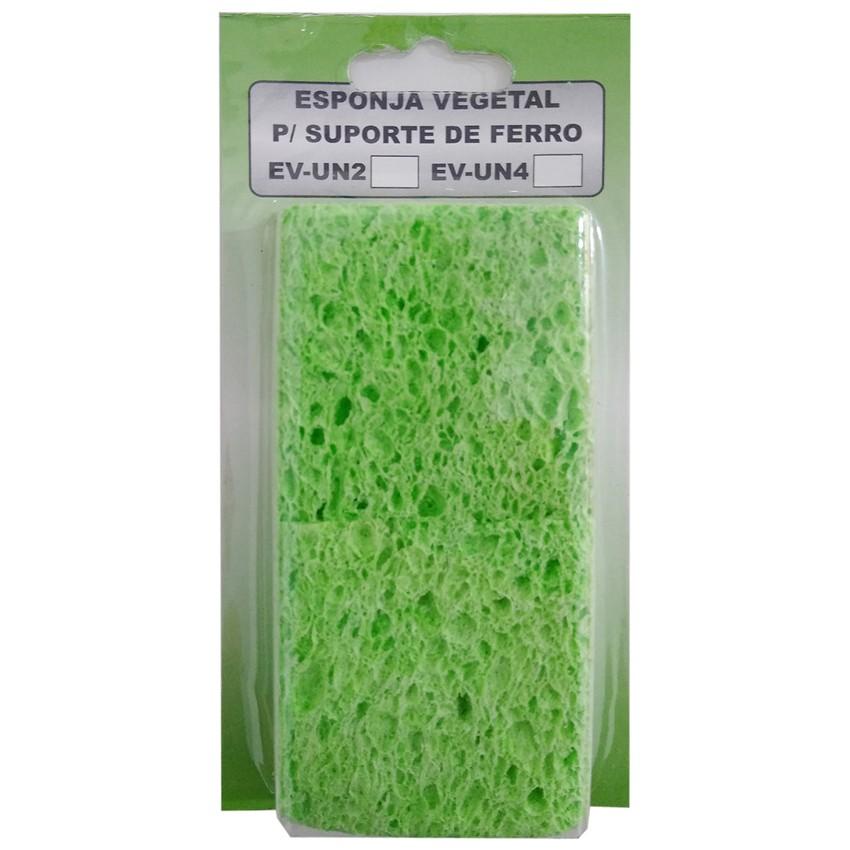 Esponja Vegetal Limpeza Ponta Ferro pacote com 4 Unidades  - EMPORIO K