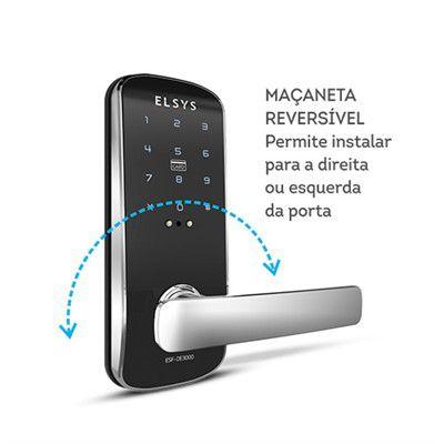 Fechadura Digital De Embutir ESF-DE3000 Elsys  - EMPORIO K