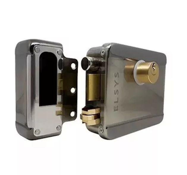 Fechadura Elétrica Sobrepor Duolock Bivolt ESF-E5000 Elsys Dupla Trava  - EMPORIO K