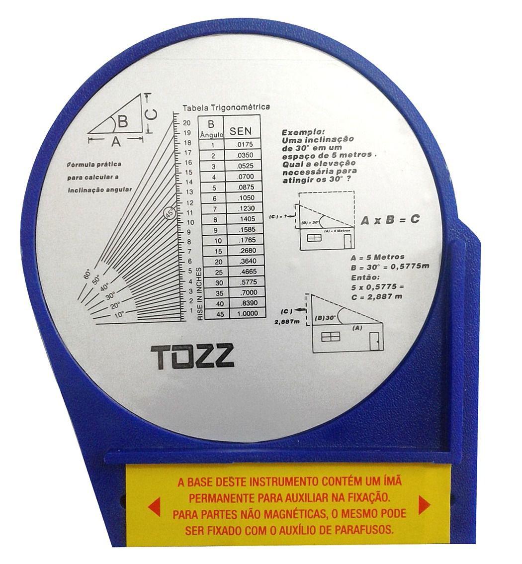 Inclinometro Base Magnetica Antena Parabolica Nivel Angular  - EMPORIO K
