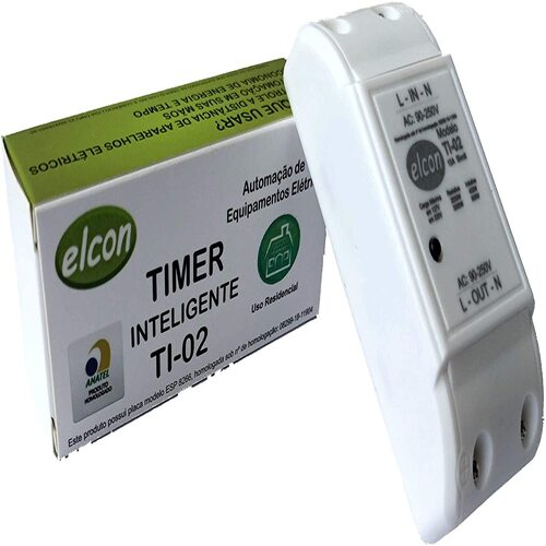 Interruptor Smart Inteligente Elcon Smart Alexa Google TI-02  - EMPORIO K