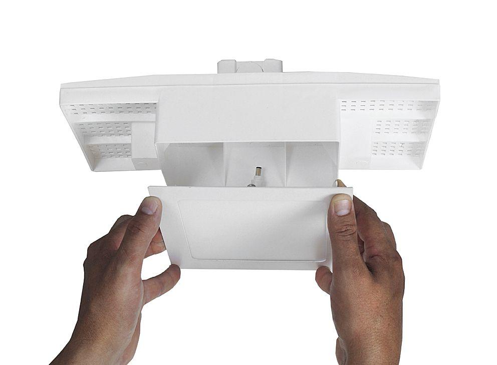 Kit Plafon  18w + Caixa passagem Embutir na Laje Plasled  - EMPORIO K