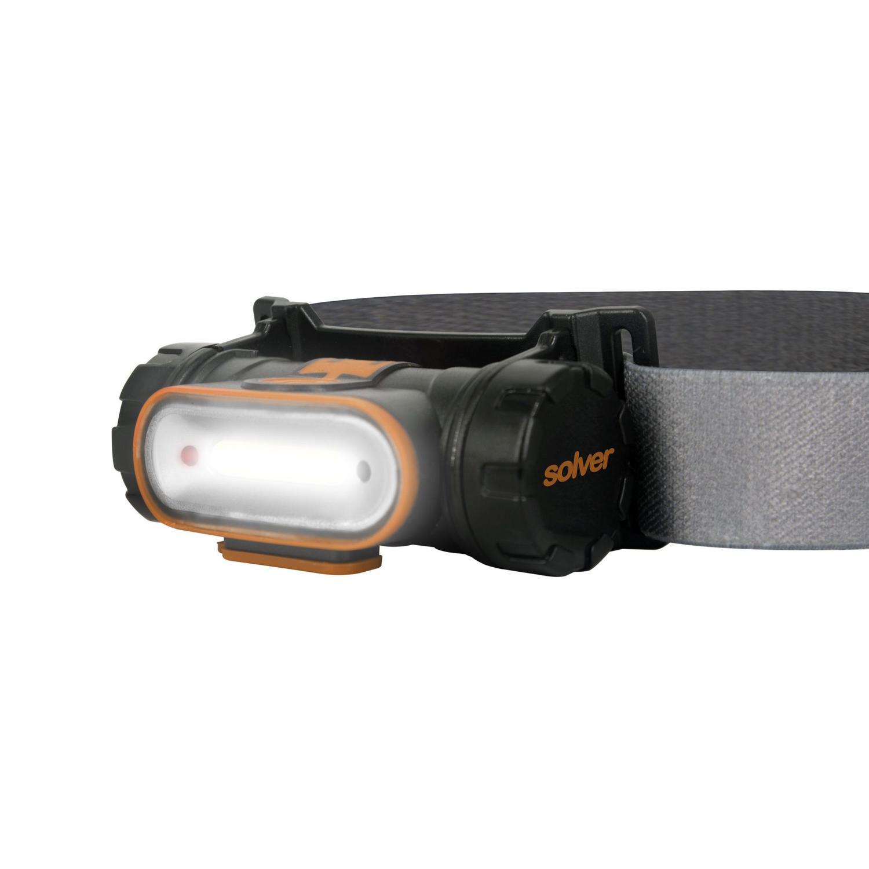 Lanterna cabeça COB com sensor SLP-12  - EMPORIO K