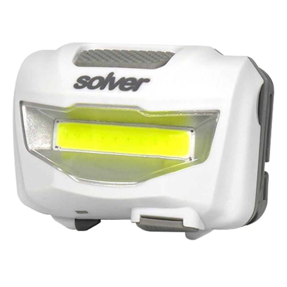 Lanterna de Cabeça Recarregável LED COB Solver SLP-11  - EMPORIO K