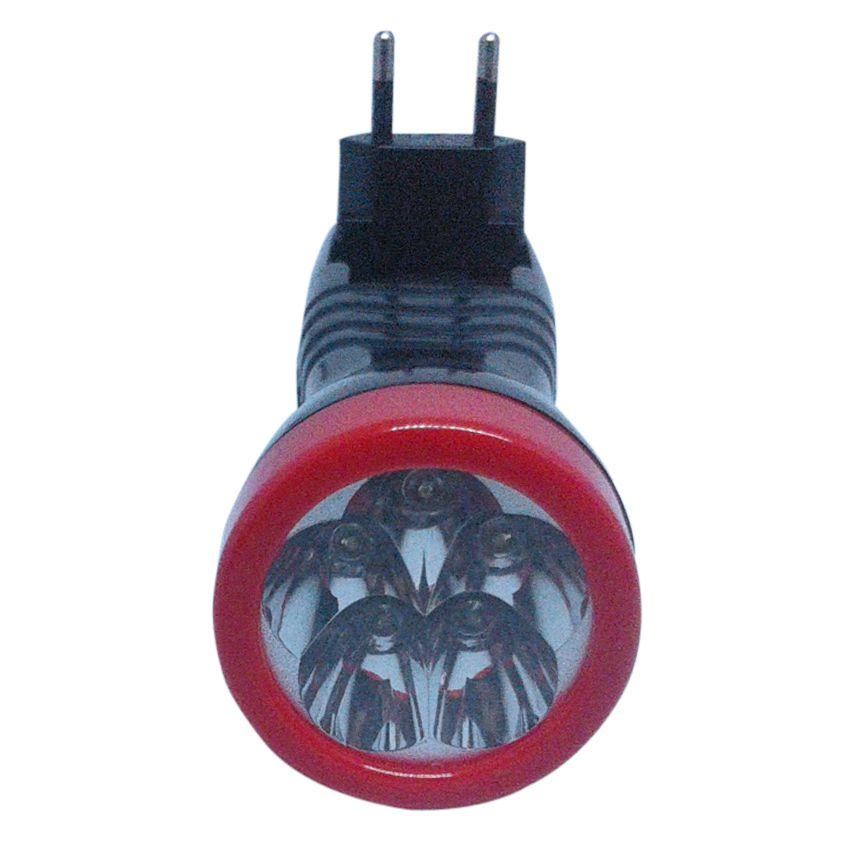 Lanterna de Led Recarregável Bivolt 5 LEds 9MU Eda  - EMPORIO K