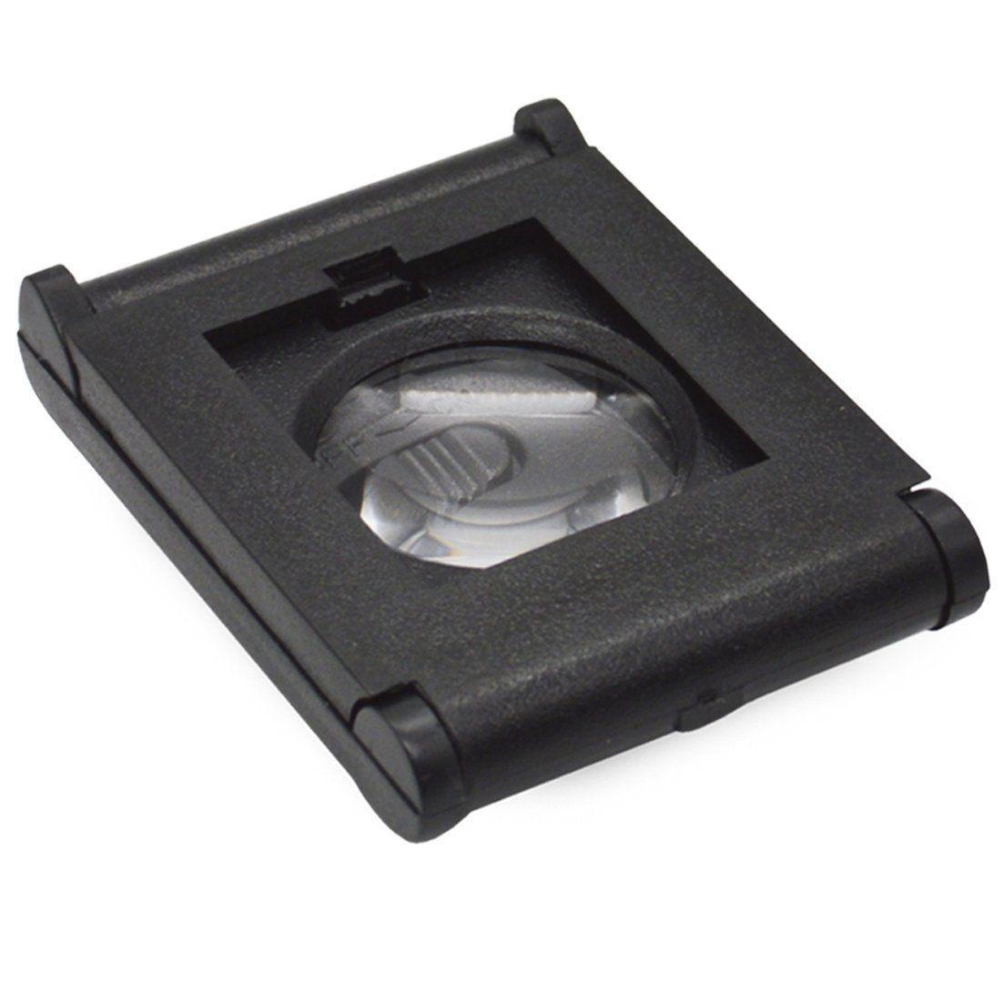Lupa Conta Fios LED com Aumento 5D Portátil e Dobrável Solver SLF-125  - EMPORIO K