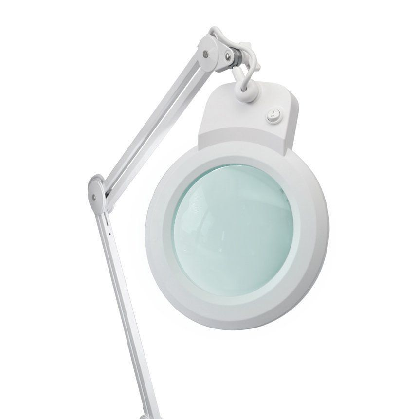Lupa de Bancada com Iluminação LED Solver HL-900 5X BIVOLT  - EMPORIO K