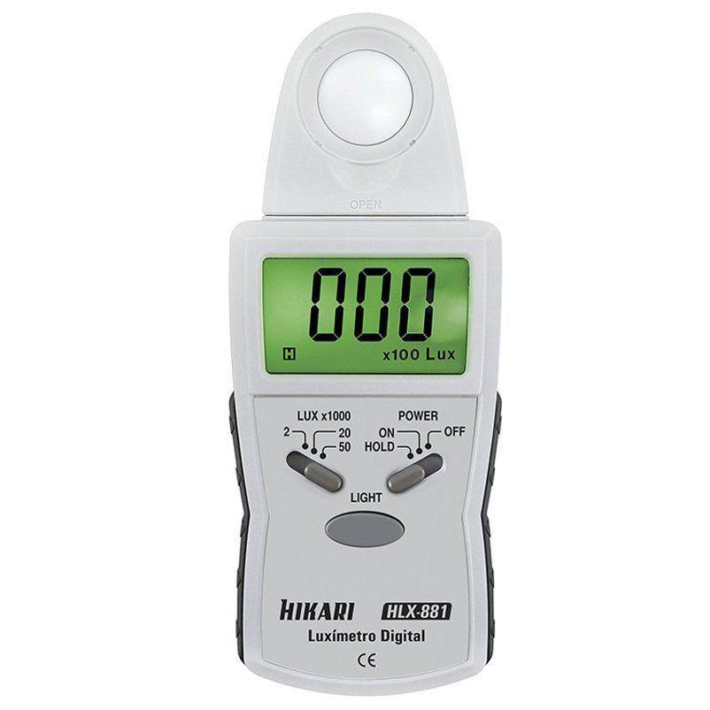 Luxímetro Digital Hikari Hlx-881 Retrátil  - EMPORIO K