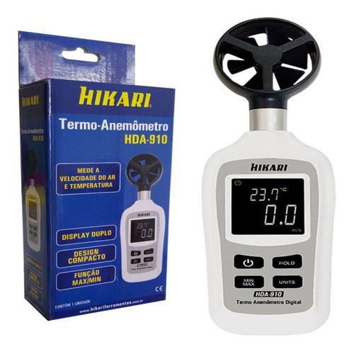 Mini termo anemometro HDA-910  - EMPORIO K