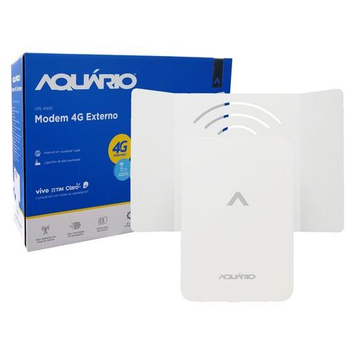 Modem externo 4G CPE-4000 AQUARIO  - EMPORIO K