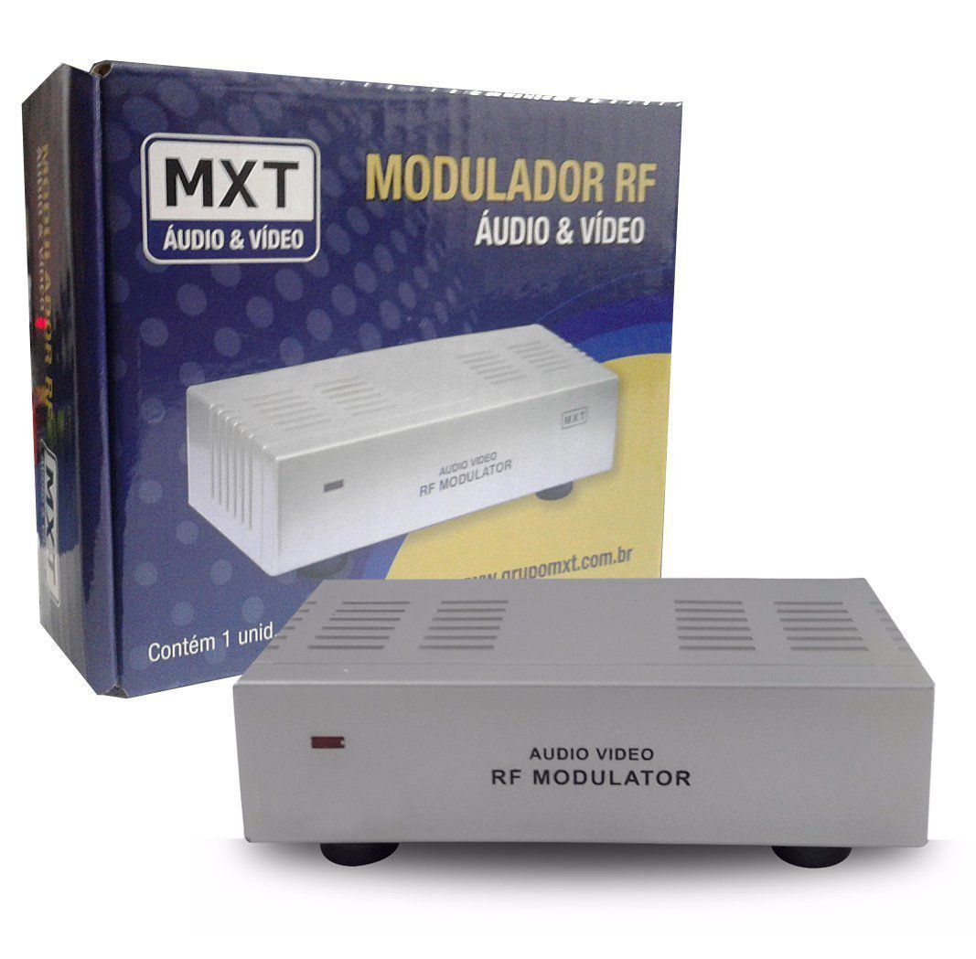 Modulador Rca Audio Video X RF MXT  - EMPORIO K
