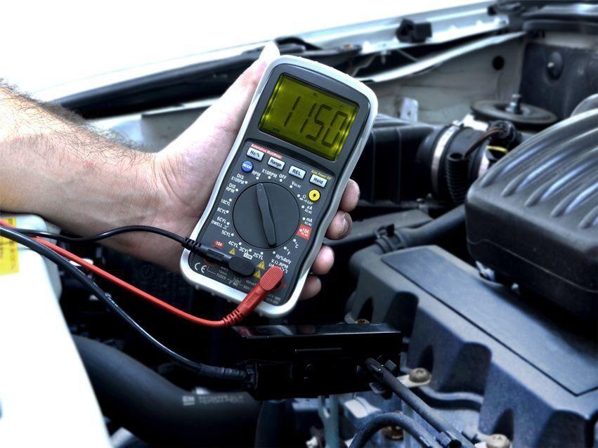 Multimetro Digital Automotivo HMA 120 Hikari Cat III 600V  - EMPORIO K
