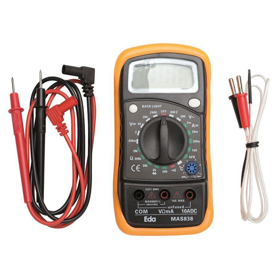 Multímetro Digital Com Sensor De Temperatura 9kd Eda  - EMPORIO K