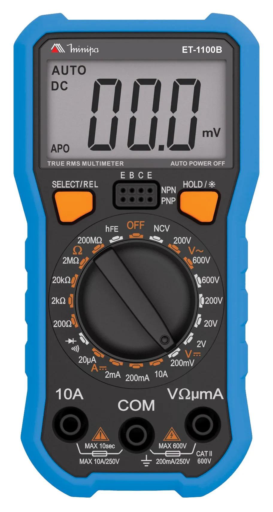 Multimetro digital ET-1100B  - EMPORIO K