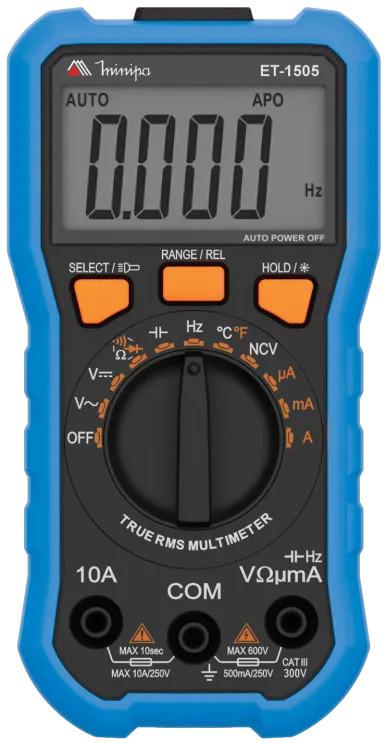 Multimetro digital ET-1505  - EMPORIO K