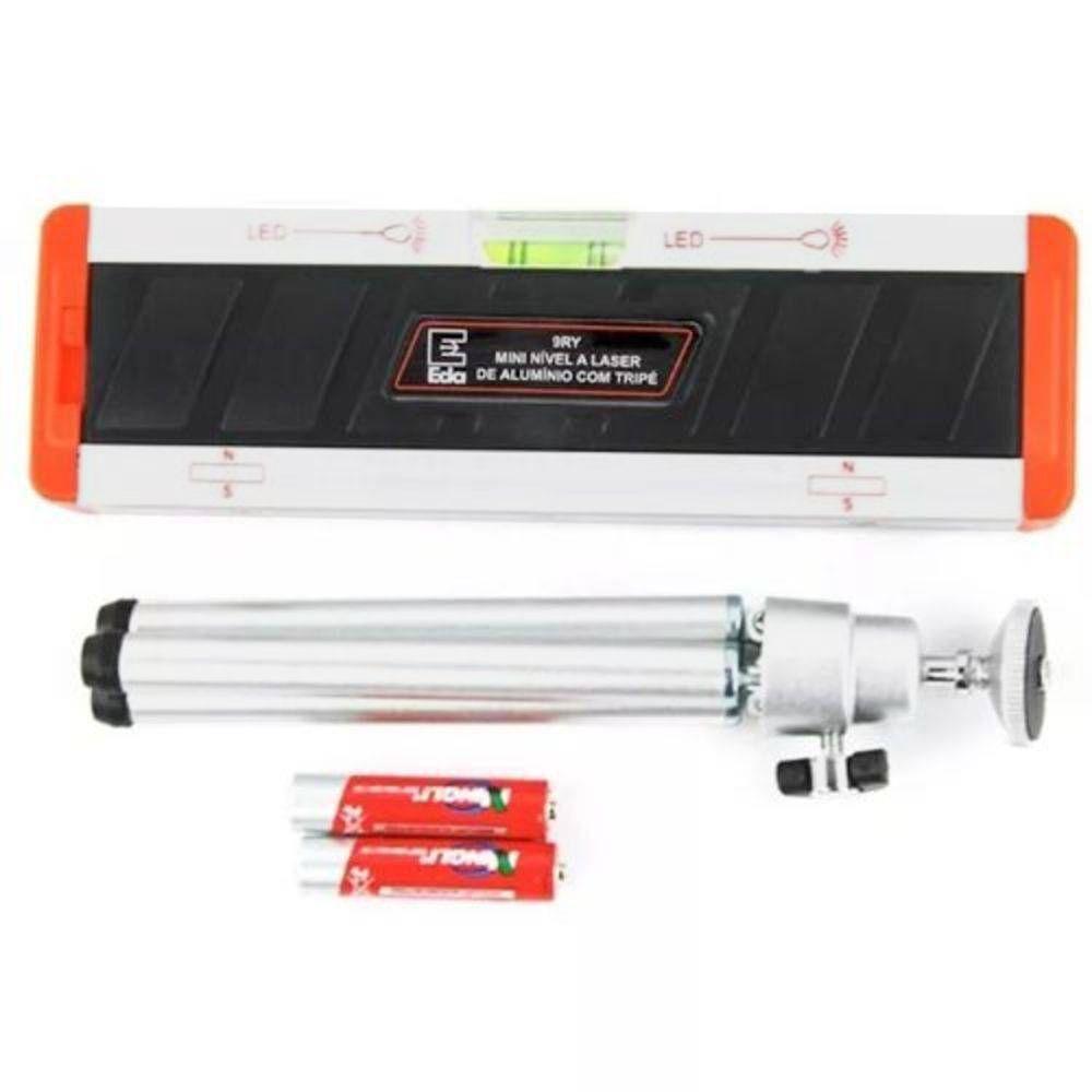 Nível a Laser de Alumínio com Tripé 30 Metros de Alcance 9RY  - EMPORIO K