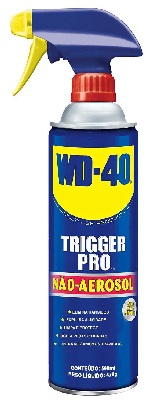 Óleo Desengripante Lubrificante Multiuso WD-40 Trigger Pro Não Aerosol 590ml  - EMPORIO K