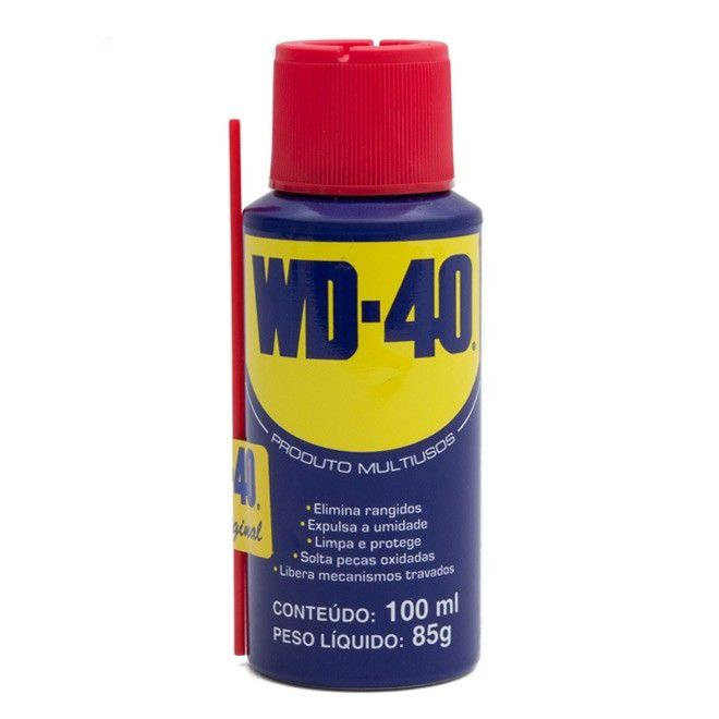 Óleo Lubrificante Spray Tradicional 100 ml WD-40  - EMPORIO K