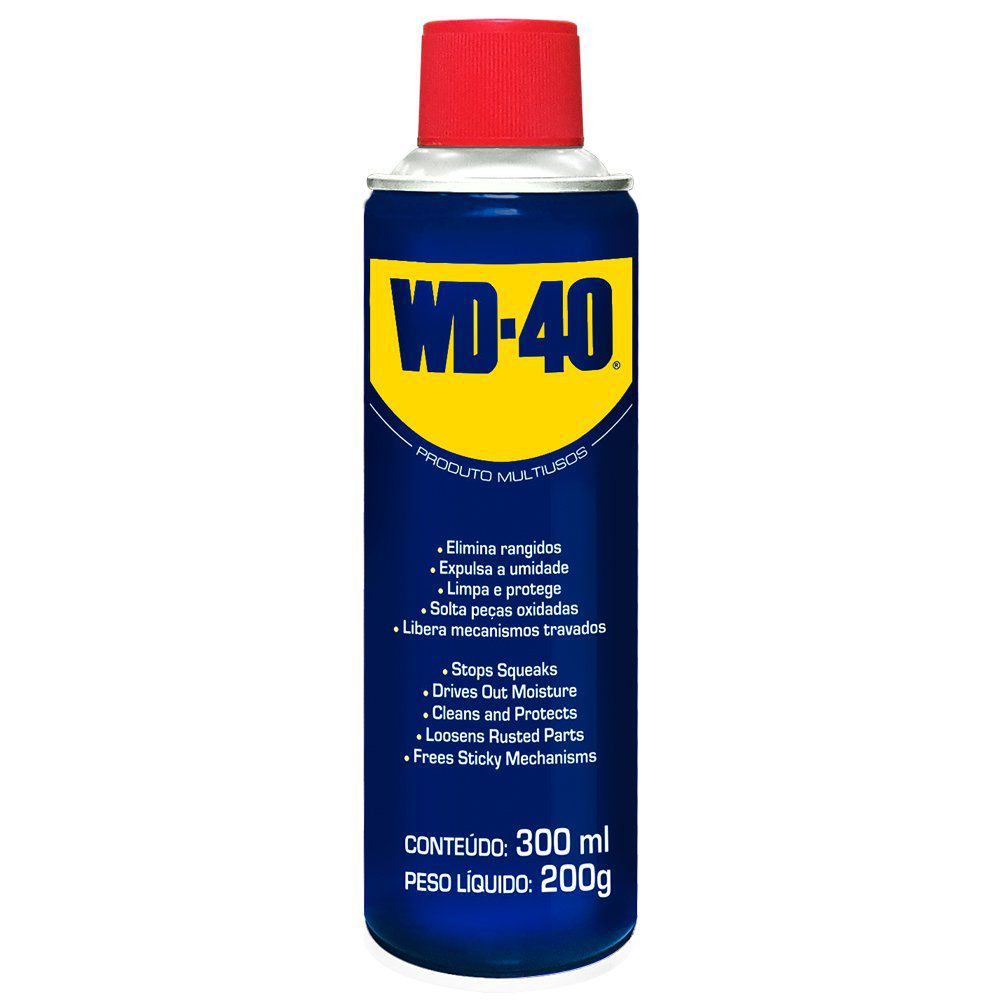 Óleo Spray Lubrificante Multiuso 300 ml Tradicional WD-40  - EMPORIO K